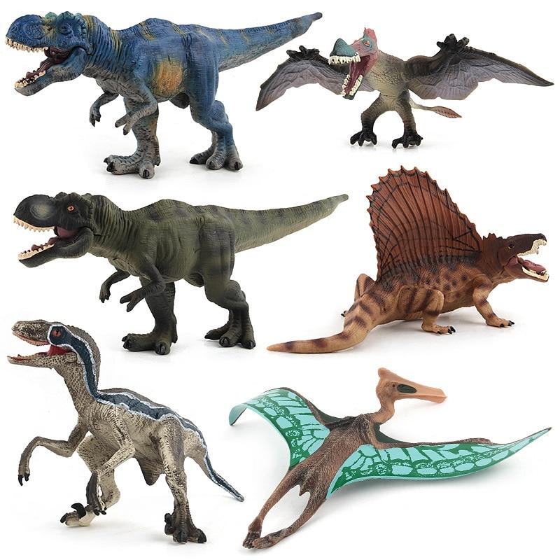 Jurassic Park Dinosaur Toys For Children Boys Model Kit Action Figure Anime Toys Set Dragon Toys & Hobbies Educational Toys 1270