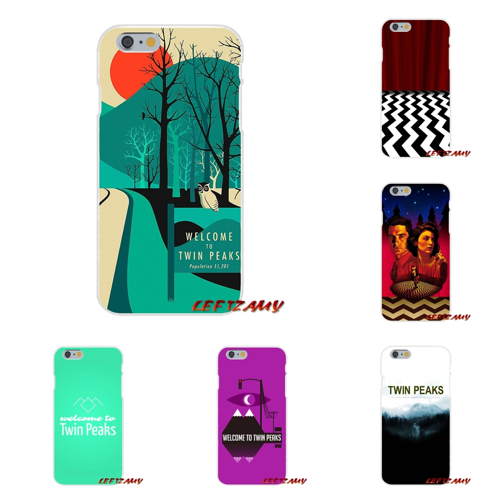 Accessories Phone Cases Covers welcome to twin peaks For Samsung Galaxy S3 S4 S5 MINI S6 S7 edge S8 S9 Plus Note 2 3 4 5 8