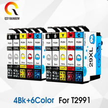 10 PCS 29XL T2991 T2991XL T29XL compatible For Epson ink Cartridges XP235 XP247 XP245 XP332 XP335 XP342 XP345 XP435 XP432 XP445