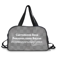 ELVISWORDS Funny Exclusive Customized Medium Waterproof Tote Travel Bags for Men Women Luggage Totes Bag