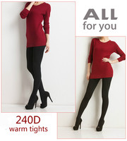 NEW Black Fashion Sexy Ladies Thick Foot Pantyhose Tights Warm Winter Slim Stretch Pants Tight 180D