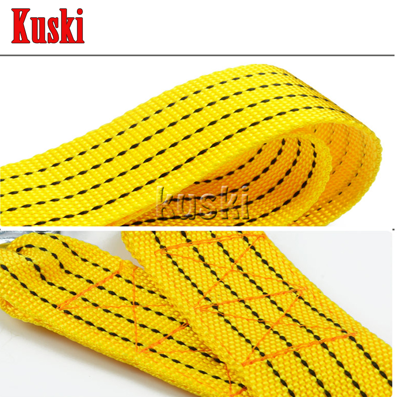 3 tons 3 meters Car trailer rope For Nissan Qashqai X-TRAIL Juke TIIDA Note Almera March For Mazda 3 6 2 CX-5 CX5 CX-7