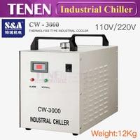 S & Промышленный чиллер CW 3000 DG 110 V CW3000 AG 220 V охладитель воды для гравировки, резки 60 W 80 W 100 W CO2 лазерной трубки