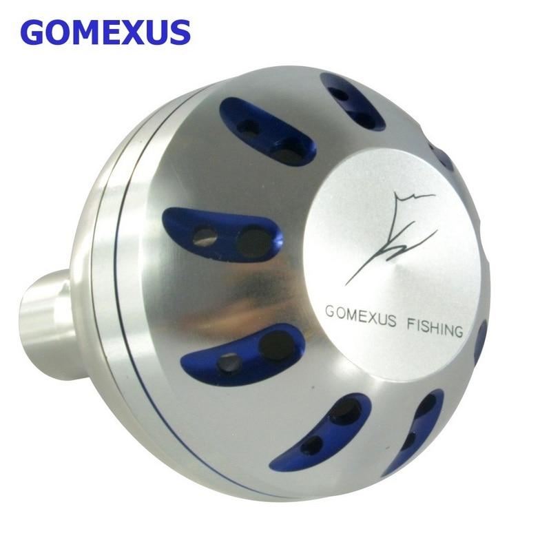 Gomexus Power Knob Reel Handle 41mm for Shimano B Daiwa L Penn Avet Accurate Okuma Abu Drill Fit , Saltiga Saltist Direct fit