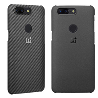 Oneplus 5T Case Official 100 Original Oneplus Mobile Phone Bag Back Shell Sandstone Black Cover Case