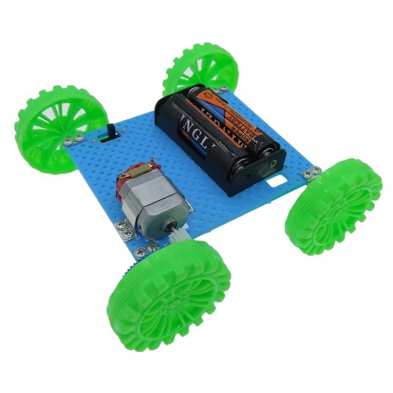 Toy Children Educational Gadget Hobby Funny DIY Car Kit