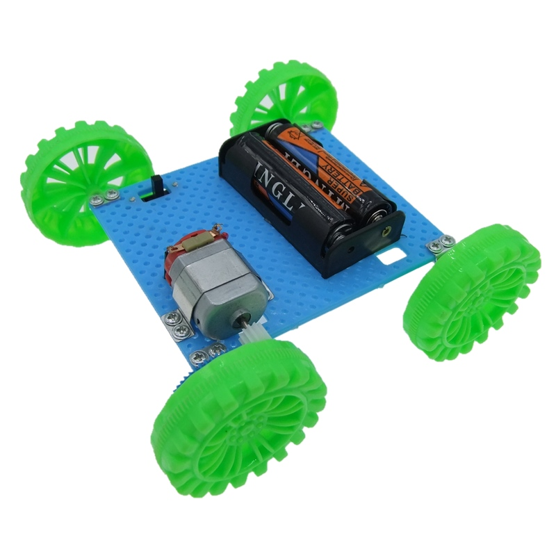 Toy Children Educational Gadget Hobby Funny DIY Car Kit