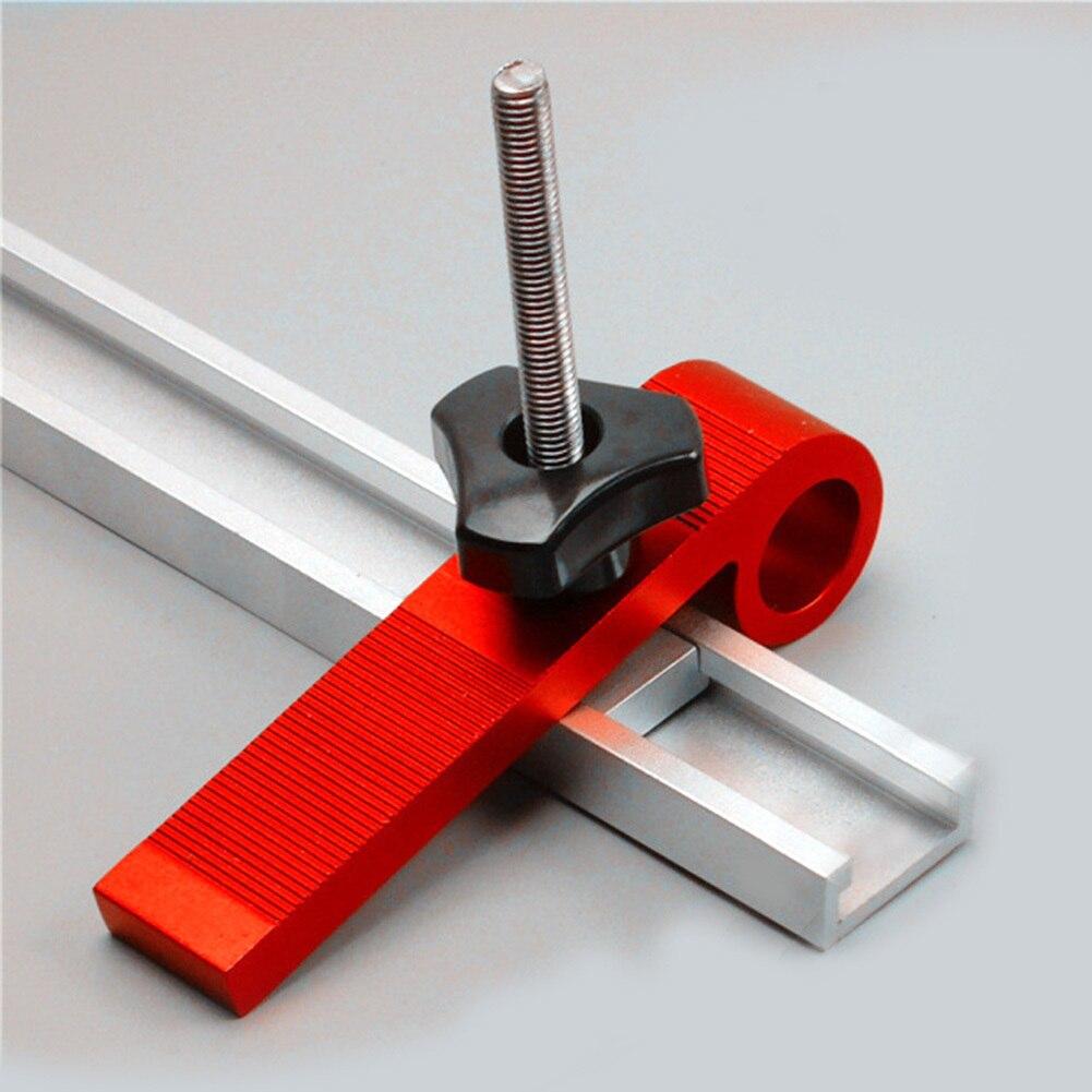 4 teile/satz Holzbearbeitung Schellen Universal Platte Gehrung Verfolgen Spann Blöcke M8 Schraube