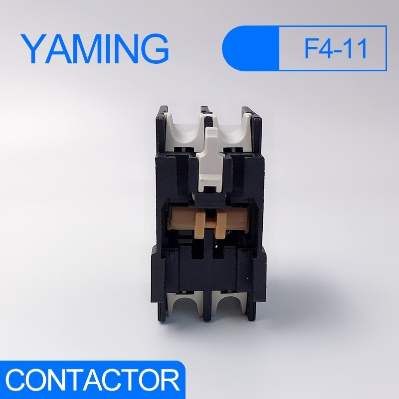 F4 11 Auxiliary contact CJX2 AC contactor supporting LA1 DN11 1NO 1NC auxiliary contact block for CJX2 LC1 D series in Contactors from Home Improvement