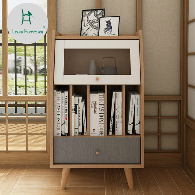 f47817ac9c22 Louis Fashion Living Room Cabinets, Nordic Japanese Style a Few Real Wood  Simple Modern Small