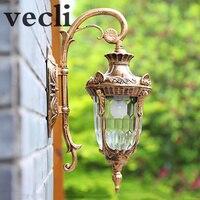 Europa ao ar livre lâmpada de parede estilo americano retro exterior luz à prova dwaterproof água o jardim luzes exterior lighting outdoor wall lamp outdoor wall -
