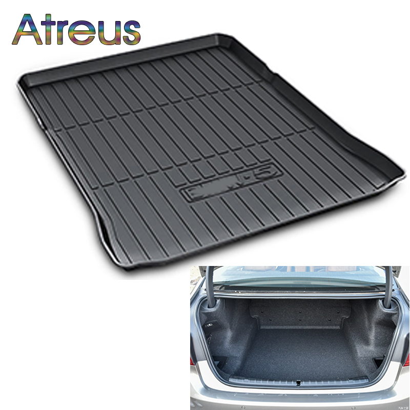 Atreus For BMW G30 F10 F30 X5 F15 E70 X6 E71 F16 X1 E84 F48 X3 X4 F45 F01 F02 Accessories Car Rear Boot Liner Trunk Cargo Mat hair company inimitable style