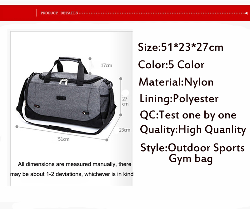 Detail Feedback Questions about Professional Large Sports Bag ... 888dc7ba86b39
