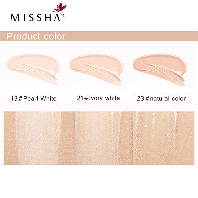 Image 5 - MISSHA M Signature Real Complete BB Cream 13/21/23 SPF25 PA++ 45g Foundation Moisturizing Makeup Perfect Cover Korean Cosmeticsbb creamperfect covermissha m -