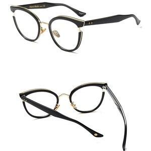 Image 5 - 2019 Nuove Donne di Disegno di Stile di Occhiali da Lettura di Qualità Cerchio Pieno di Moda Rotonda Presbiopia Occhiali per Le Donne Oculos De Leitura