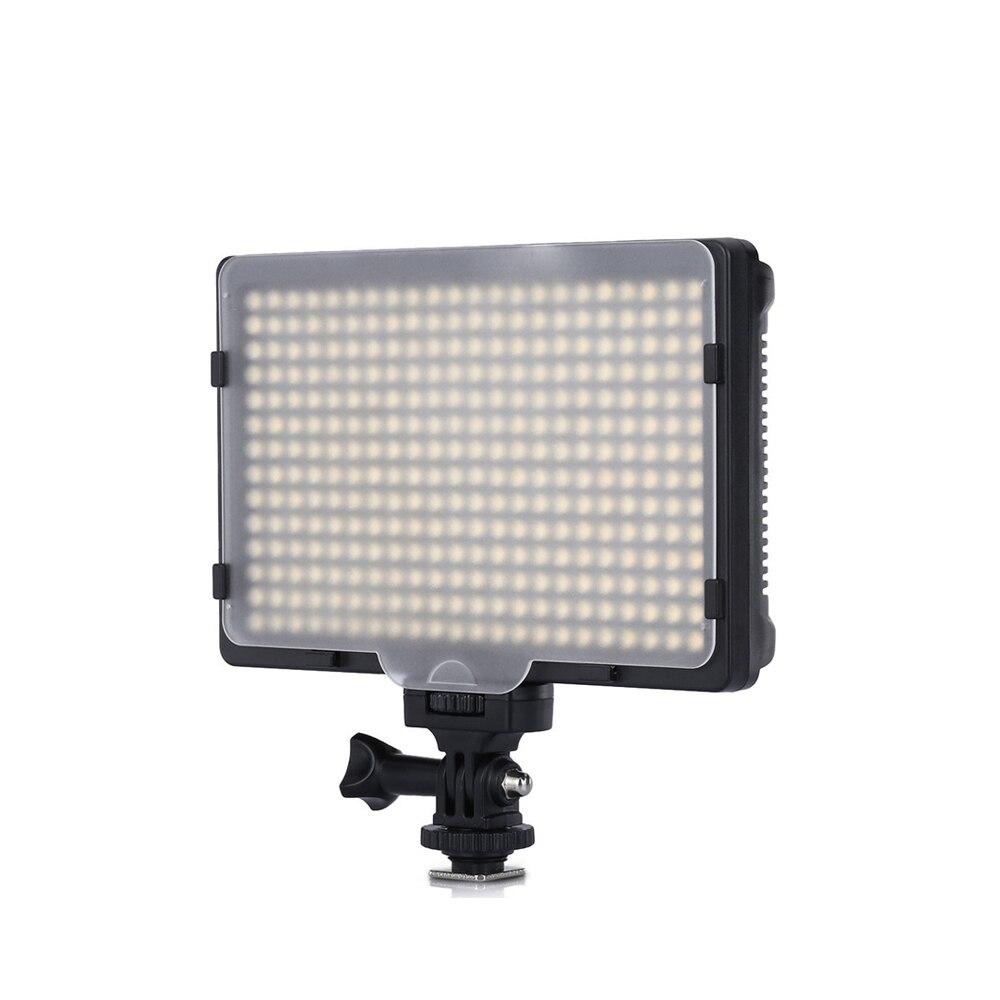 Lâmpada de Luz Escurecido para Canon Câmera Pces Vídeo – Foto 20 w 2400lm 5600 k 3200 Pode Ser Nikon Pentax Dslr Filmadora hd 308 Led