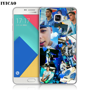 IYICAO singer Lunay Мягкий силиконовый чехол для телефона Samsung A10 A30 A40 A50 A70 M10 M20 M30 TPU чехол