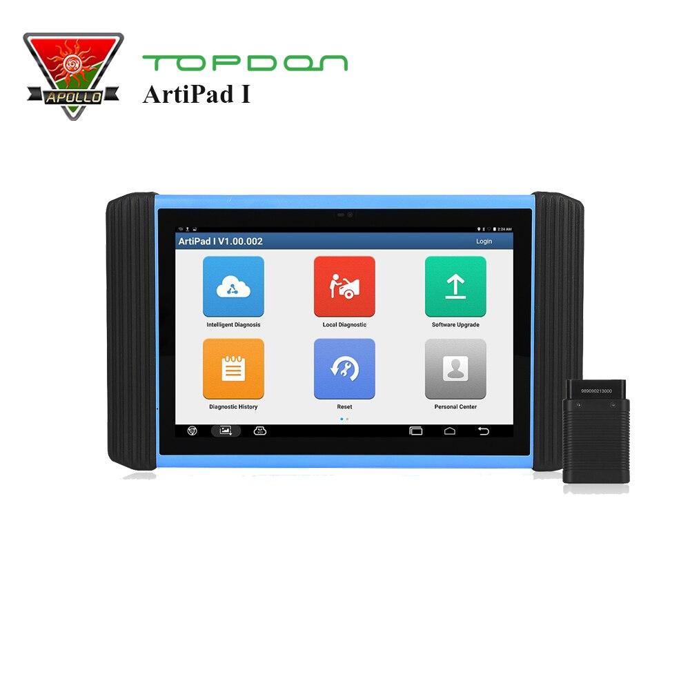 Topdon ArtiPad Je OBD2 Scanner ECU Programmation de Codage Systèmes Complets De Diagnostic Maxisys Pro I2534 Avec 2 Ans Mise À Jour Gratuite