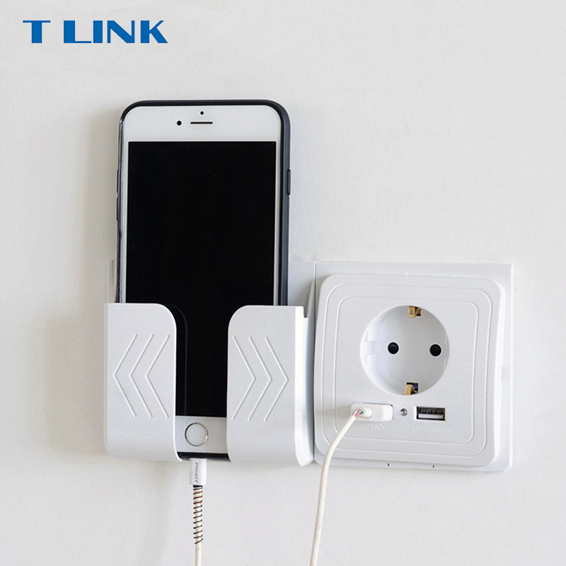 TLINK Smart Home Dual USB Port Wall Charger Adapter Charging 2A Wall Charger Adapter EU Plug Socket Power Outlet Panel