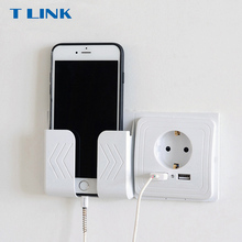 Tlink Smart Home Dual Usb poort Wall Charger Adapter Opladen 2A Wall Charger Adapter Eu Plug Socket Stopcontact Panel