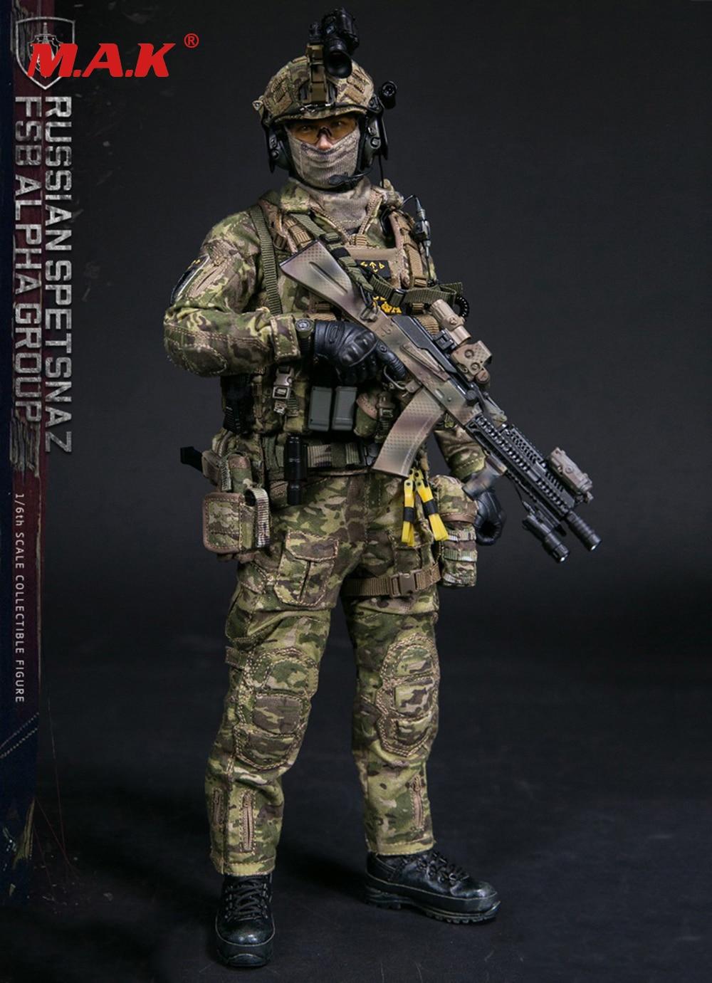 Solider action figure set completo 1/6 scala 78047B RUSSO SPETSNAZ FSB ALPHA GRUPPO maschile uomo versione standard per le collezioni