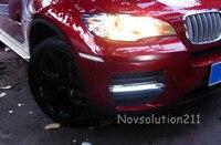 Для BMW X6 E71 2008 2014 экстерьер автомобиля Средства для укладки волос СИД DRL дневные Бег Light 2 шт./компл.