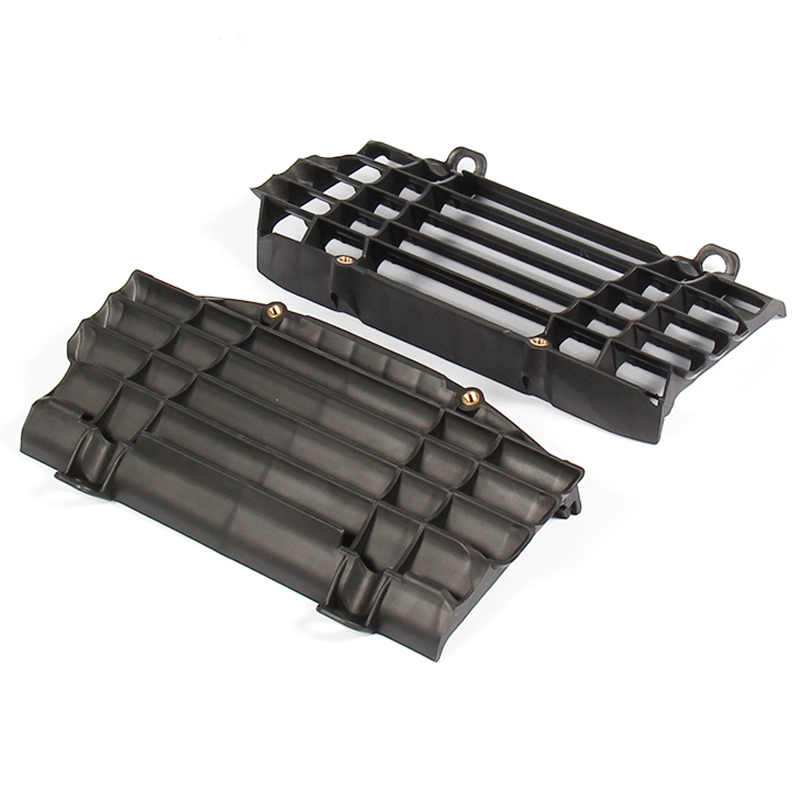 New Radiator Black Plastic shroud fins Guard For KTM XC-W EXC 125-300 17-18 EXC-F 250/350 17-18 Enduro Motorcycle