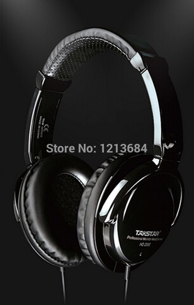 Takstar / T&S HD 2000 HD2000 Noise Isolating Bass Audio Mixing Monitor DJ Studio Recording Music Game Over-Ear Headset Headphone