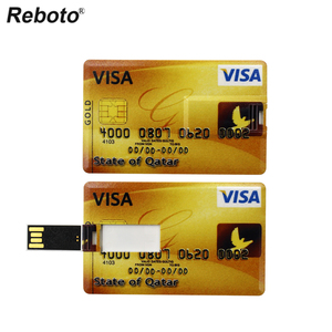 Image 5 - Real Capacity Pendrive Credit Card Pen Drive Bank Card USB Flash Drive 64GB 32GB 16GB 8GB 4GB Memory Stick