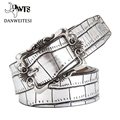 [DWTS]2016 designer belts woman high quality luxury female casual women belt ceinture femme luxe marque waist belt crocodile men