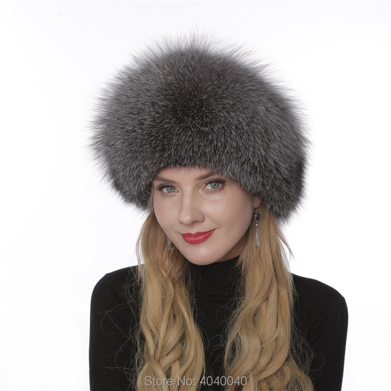 7288d0d8 Detail Feedback Questions about Bravalucia Women Winter Hat Real Fox ...