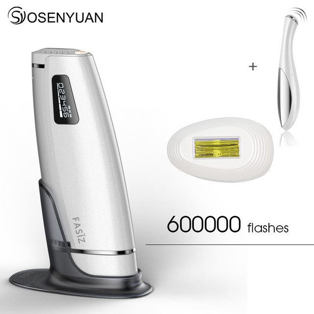 600000 times 3in1 lescolton depilador a laser IPL Epilator Hair Removal LCD Display Machine Laser Permanent Bikini Trimmer