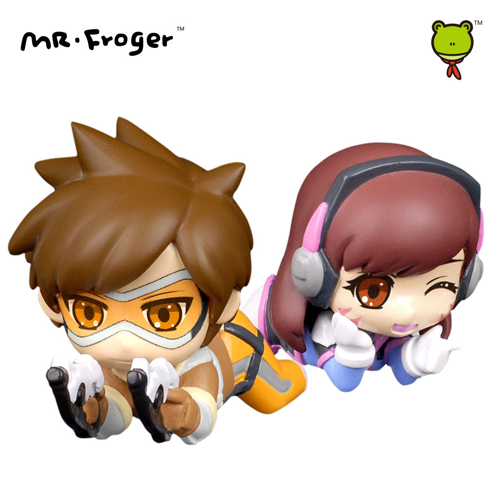 Mr.Froger Action Figures Toys Chibi Dolls Game PVC Kids