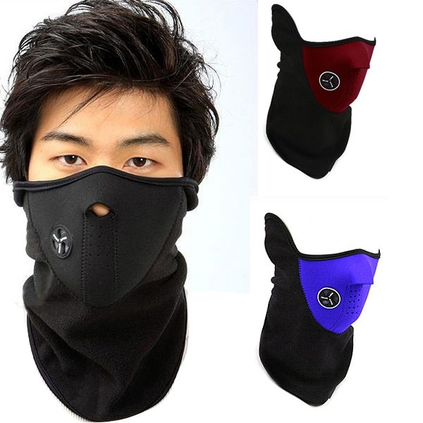 2017 Fashion Winter Unisex Winter Warm Half Face Mask Cover Neck Guard Scarf CS Sheld Ski Cycling Fashion Accessories multifunction cosplay bike skeleton mask costume halloween cs mask cycling motorcycle paintball half face mask winter fa mx8