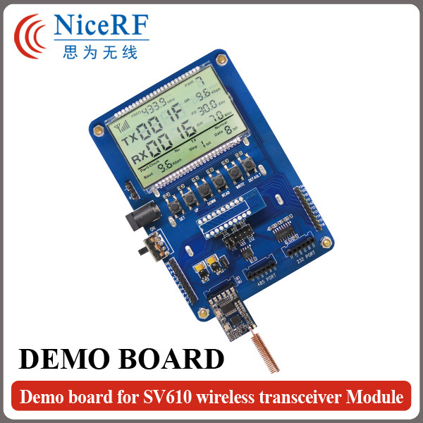 SV DEMO Board for Setting RF Parameters of SV Serial Wireless Transmitter and Receiver RF Module