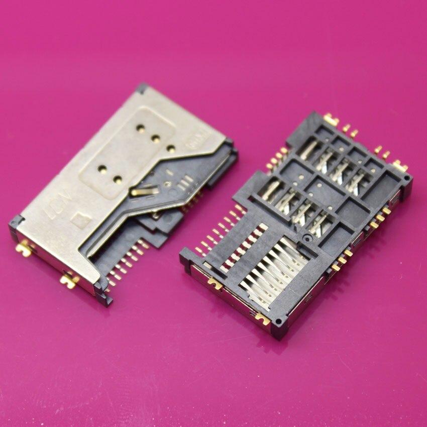 YuXi 5pcs/lot SIM Card Slot Reader Holder Connector SIM Card Socket for Lenovo P70 A60 P700I A789 A65