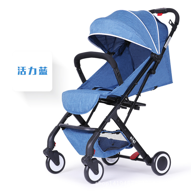Aiqi Baby Stroller Can Lie On The Seat  Foldable Luggage Trunk времена года