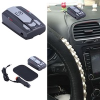 Car Radar Detector E8 16 Band 360 Degree With Laser Russian English Warning Vehicle Speed Control