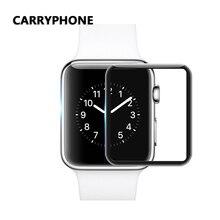 цены на 44mm 3D Glass Protector Film For Apple Watch screen protector 9H Full Cover watch Tempered Glass for i Watch Series 4 2 1 film  в интернет-магазинах