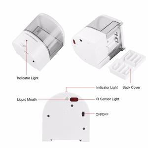 Image 3 - חדש סוללה מופעל 600ml קיר הר אוטומטי IR חיישן סבון Dispenser מגע משלוח מטבח סבון תחליב משאבת עבור מטבח אמבטיה