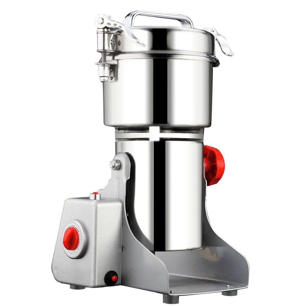 700g przyprawy Hebals ziarna zboża kawy suchej maszynka do mielenia żywności młyn szlifierka Gristmill Home medycyna mąki proszku kruszarki w Młynki od Dom i ogród na  Grupa 1