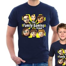 FGTeeV T-SHIRT The Family Gaming Team youtuber fgtv Adult and Kids B23 New T Shirts Funny Tops Tee  free shipping