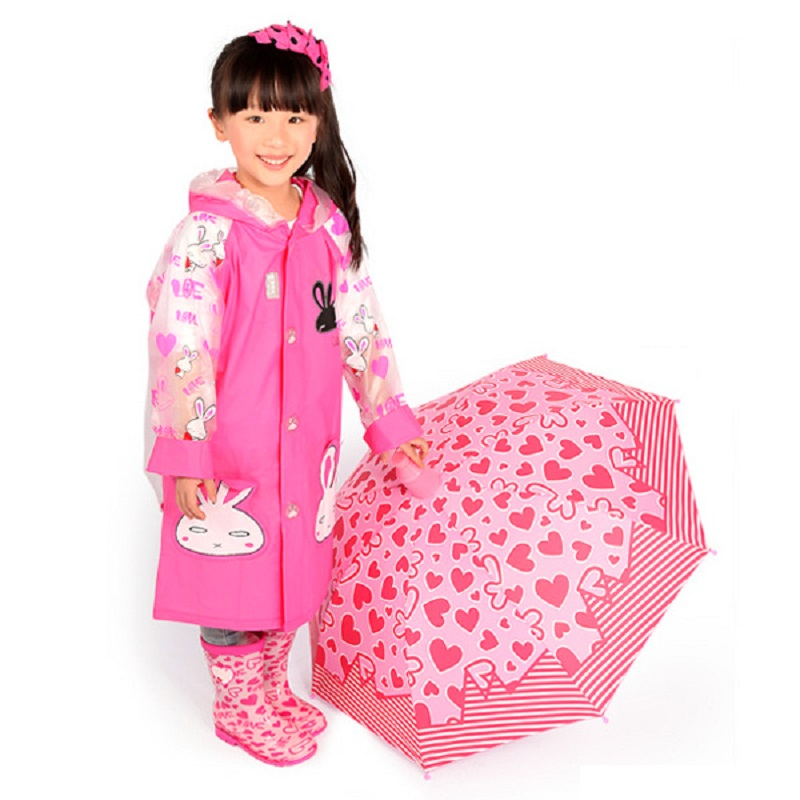 Kids Cute Animal Style Children Raincoat Boy Girl Rainwear Hooded Waterproof Rainsuit Cover Cartoon Student Baby Rain Coat waterproof raincoat kids children boys long cute poncho lluvia mujer girls raincoat impermeable backpack rain cover ddg48y