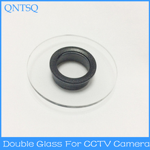 CCTV Camera housing Glass CS lens mount
