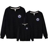 かわいい韓国カップル服秋ファミリールック父母息子娘ファミリーセット服愛好カジュアルセーターDC306