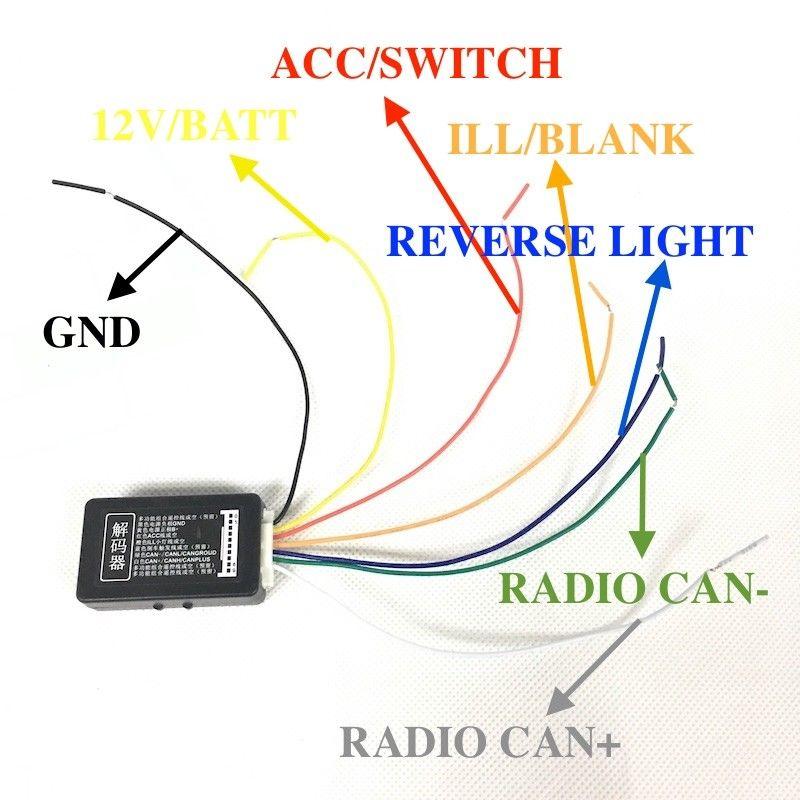 Bodenla Car Radio Mib Rcd330 Plus Decoder Canbus Gateway Emulator Rhaliexpress: Vw Can Bus Decoder Wiring Diagram At Gmaili.net