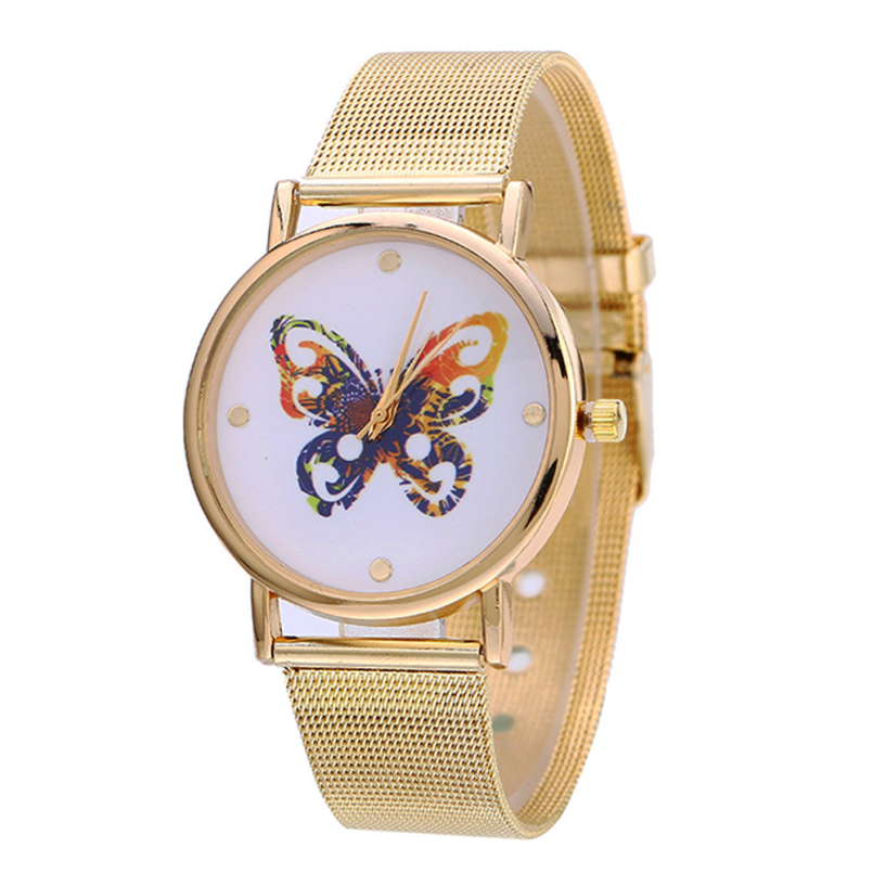 Excellent quality top brand luxury women quartz-watch stainless steel ladies bracelet watch women montre femme de marque clock