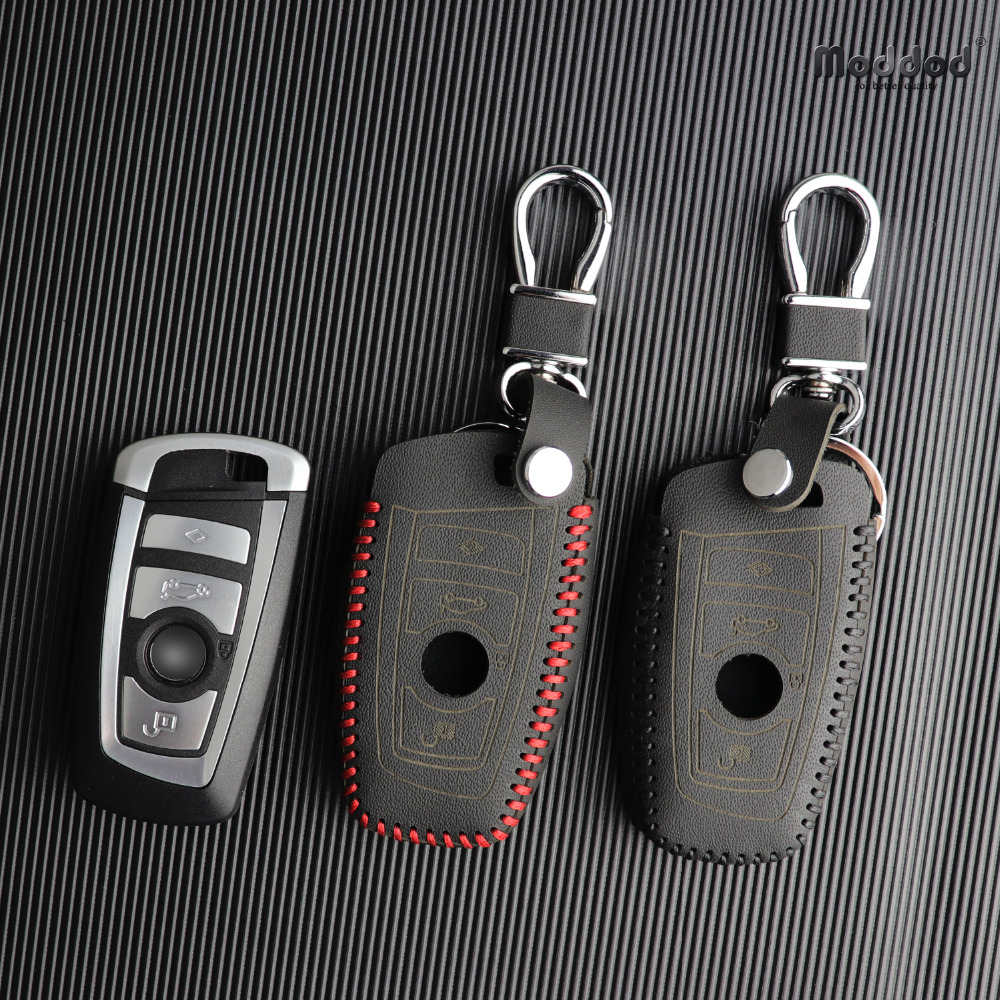 Car key Cover for <font><b>BMW</b></font> 5 Series M1 GT F20 F10 <font><b>F30</b></font> 520 525 520I 530D E34 E46 E60 E90 Genuine leather Case Remote keybag <font><b>keychain</b></font> image