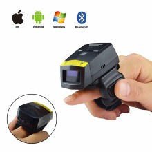 Wearable Ring 1D Laser Bluetooth Barcode Scanner FS01 32bit USB Li-ion Battery For Windows Mac IOS Android Mobile