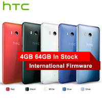 Hot Sale HTC U11 4G LTE Mobile Phone Snapdragon 835 Octa Core IP67 Waterproof 6GB RAM 128GB ROM 5.5 inch 2560x1440p Smart Phone